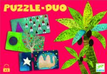 Puzzle Duo – Formes  -  Djeco